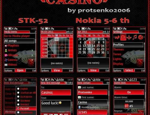 Mobile Casino Theme by Protsenko2006