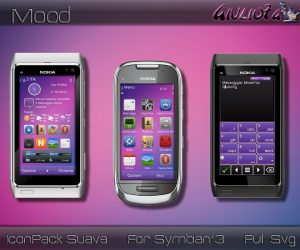 Symbian3 mobile theme mood by giulio7g