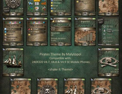Pirates Sony Ericsson Theme by Malytopol