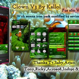 Clown s60v5 nokian97 theme by kallol