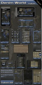 Denim jeans nokian8 theme by thabull