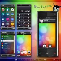 htc future symbian themes