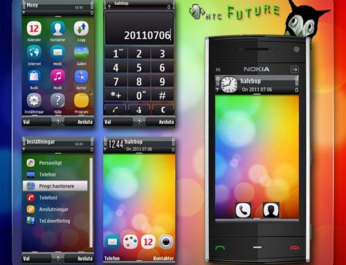 HTC Future Nokia S60v5 theme By LHS
