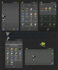 android mobile theme mrlonely by sam
