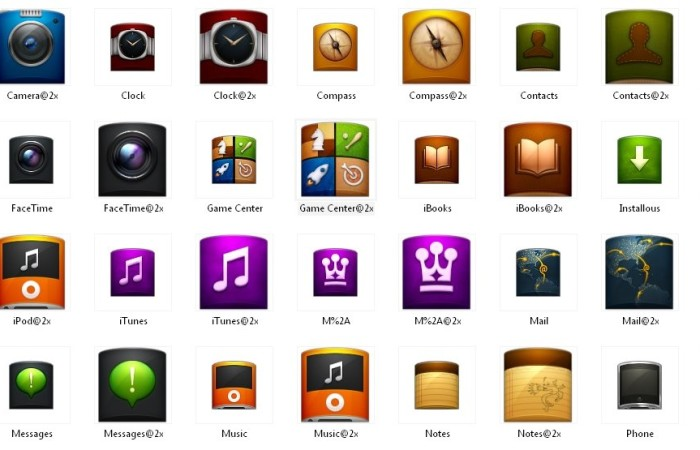 android and iphone png icons