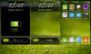 apple iphone theme fresh by sam1374