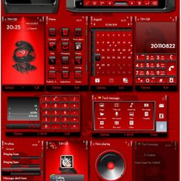 Rebel Smurf Symbian3 theme by ThaBull