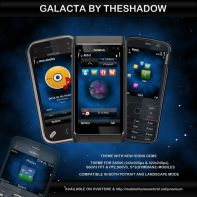 Galacta premium nokia theme by theshadow