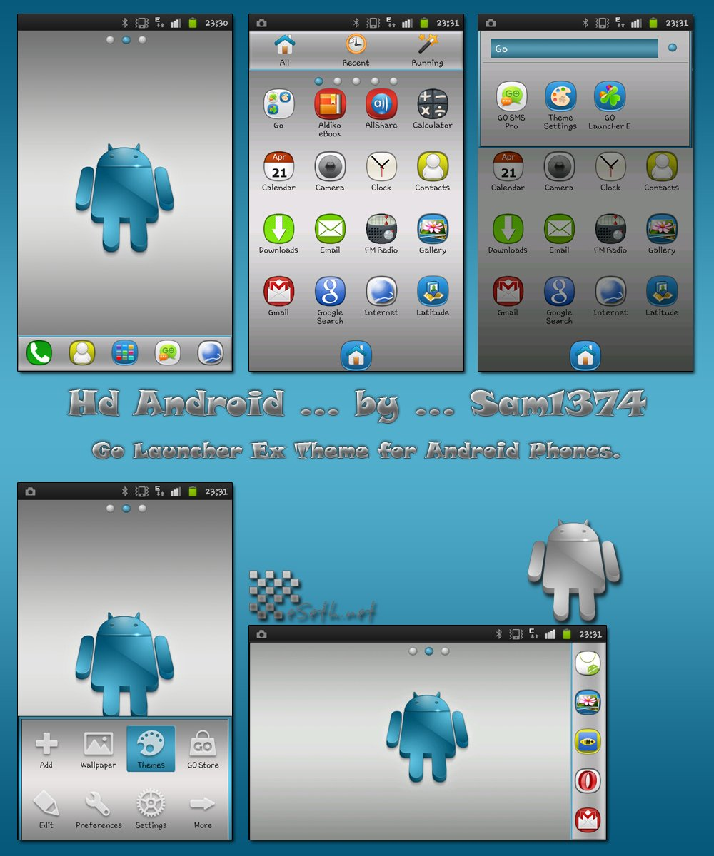 Android theme by Sam1374