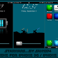 Starwars iphone 3g theme by sam