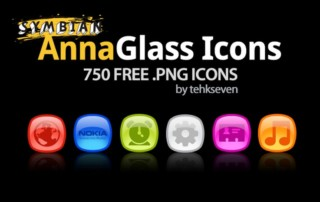 Glass anna icon pack