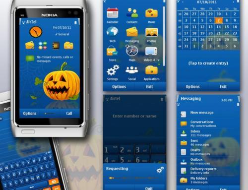 Halloween Day Free Symbian3/Anna Theme