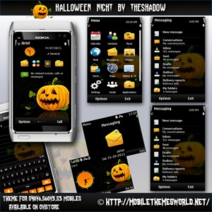 Halloween Night  premium theme by TheShadow