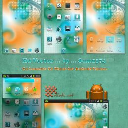 hd vector android theme by sam