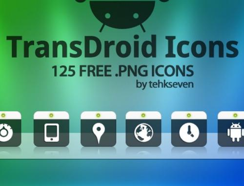 TransDroid Icon Pack by Tehkseven