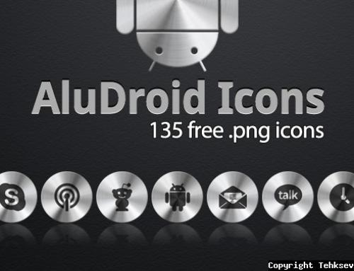 AluDroid Android Icons Pack by Tehkseven
