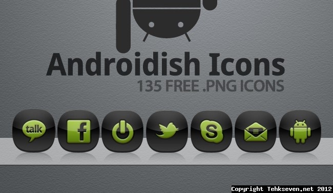 androidish nokia icons for mobile themes