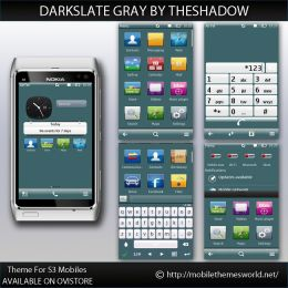 DarkSlate Gray luminaized icons by TheShadow Symbian Belle