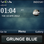 Grunge Blue ovi 150x150 Nokia Themes Store