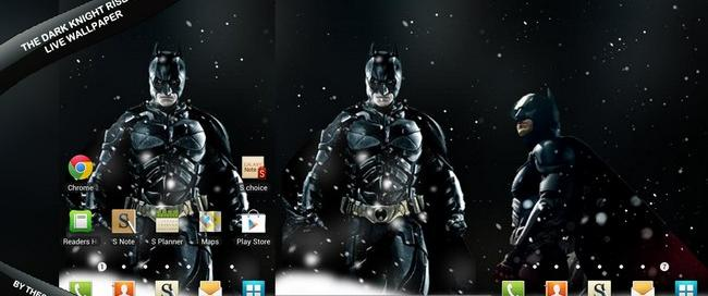 The Dark Knight Rises Android Live Wallpaper by theshadow