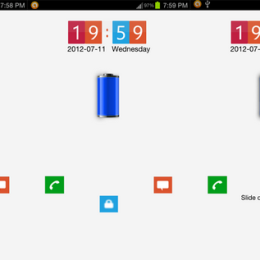 Lumia Lock Theme Go Locker for Android phones