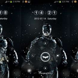 The Dark Knight Rises V 2 Go Locker theme by theshadow