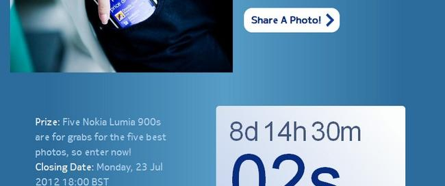 Nokia Lumia 900 Contest on Facebook-Win