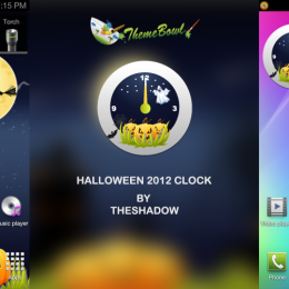 Halloween 2012 Analog Clock Free Android App by theshadow