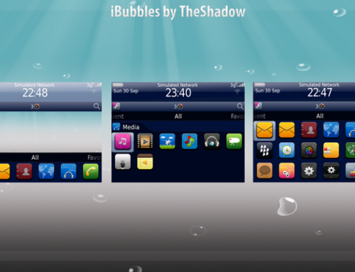 iBubbles Blackberry Theme by TheShadow