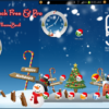 Christmas Winter Holidays Free and Paid Live Analog Clock Android App by TheShadow