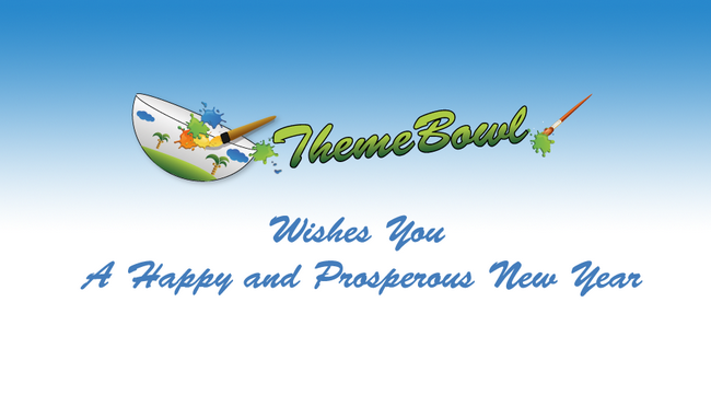 ThemeBowl newyear preview Homepage