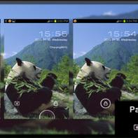 Panda Go Locker Theme by gopineom