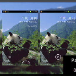 Panda Go Locker Theme by gopineom