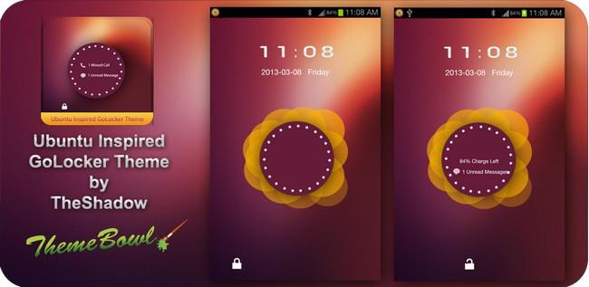 Ubuntu Inspired Go Locker Theme Preview Homepage