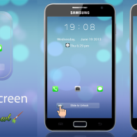 Paid Theme: iOS 7 Go Locker Theme for Android