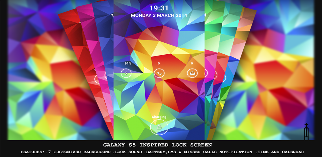 Galaxy S5 Lock Screen Promo Homepage