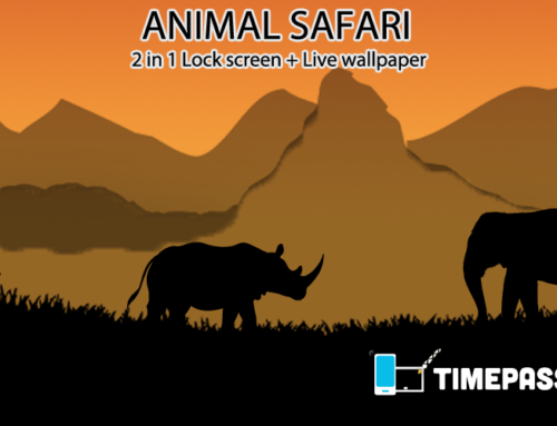 Cool Lock Screen LiveWallpaper Animal Safari for Android