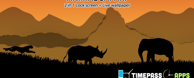 Cool Lock Screen Live Wallpaper Theme
