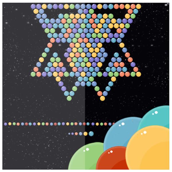 bubble shooter bubbles in colors ios