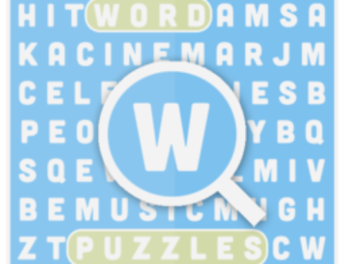 Word Puzzles a simpe word search game for ios