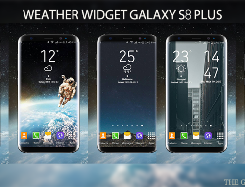 Samsung Galaxy S8 Weather Widget For Android