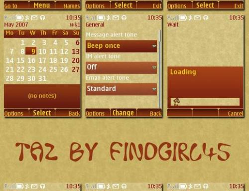 Taz  phone themes by findgirl45