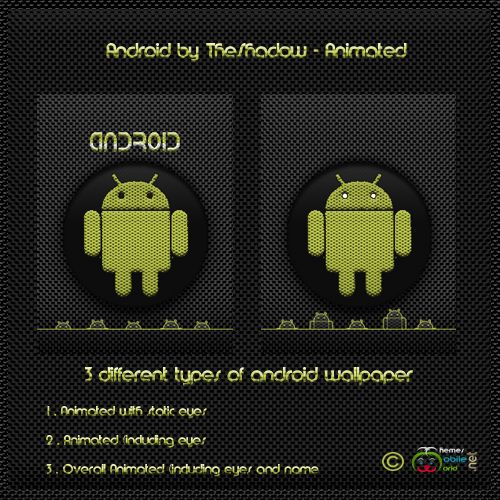 Android animated wallpaper