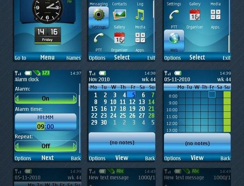 HTC Clock phone theme byElkztur