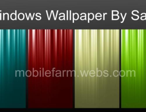 Windows Wallpaper By Samy