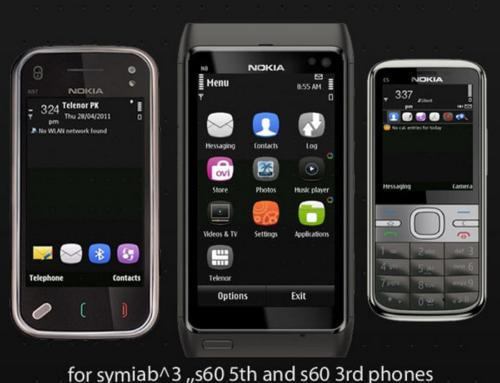 Microdots Symbian mobile theme by FGshah