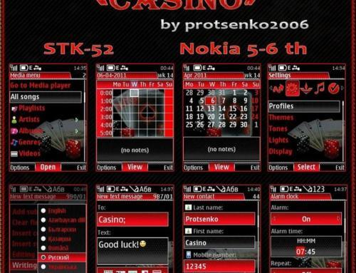 Mobile Casino Theme by Protsenko2006