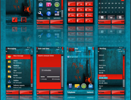 Music is Life S60v5 theme by LHS