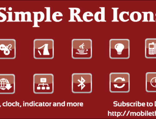 Subscribe to Download Free SimpleRed Icons