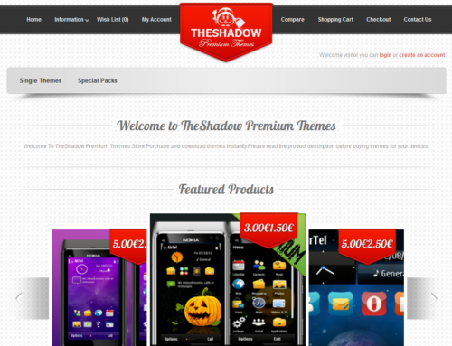 Festive Offer on TheShadow Premium Themes Store